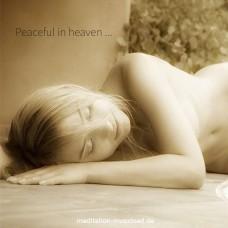 Peaceful in heaven ...